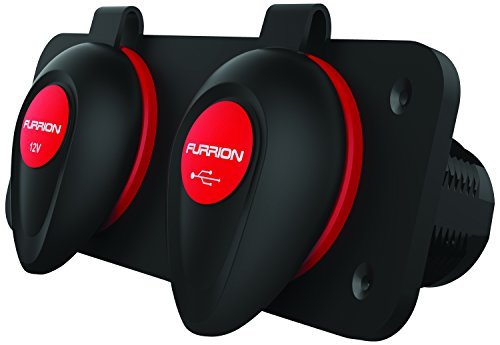 Furrion F12VRSB Receptacle Combination Mounting product image