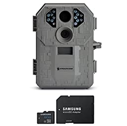 Stealth Cam STC-P12 6.0 Megapixel Digital Scouting Camera, Tree Bark, Right + Compatible High Speed Samsung 8 GB SD card with Dual Use Adapter Bundle