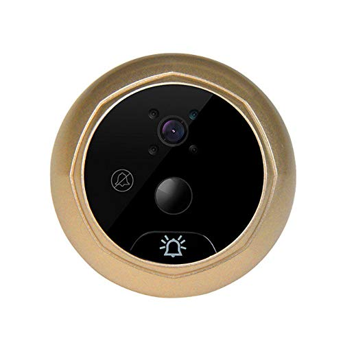 Wild Emperor Visual doorbell Visible Cat's Eye 4.3-inch Digital LCD Monitor 120-degree Wide-Angle Browser Photo, Visual Monitoring Electronic Cat's Eye Camera OV Industrial HD Color Image Sensor from Wild Emperor