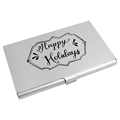 Holder Wallet Azeeda Business 'Happy Holidays Credit Plaque' Card CH00011495 Card rqTXr8w