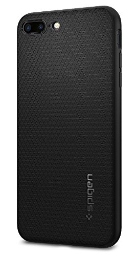 Spigen Liquid Air Armor iPhone 8 Plus / iPhone 7 Plus Case with Durable Flex and Easy Grip Design for Apple iPhone 8 Plus 2017 / iPhone 7 Plus 2016 - Black