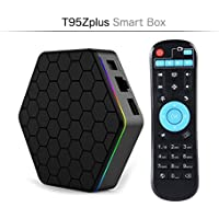 2017 OzTeck T95Z PLUS Android TV Box,Octa Core Smart TV Box 2GB RAM 16GB ROM Android 6.0 Amlogic S912 Support 2.4G/5G Dual Wifi/1000M LAN/BT 4.0/4K Resolution/3D TV Boxes