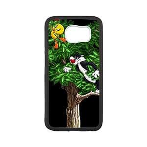 Tweety Bird Samsung Galaxy S6 Cell Phone Case Black yyfabd-325632