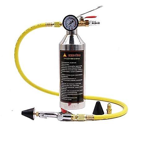 Elegantamazing - Kit de Limpieza de Aire Acondicionado para Botellas de Aire Acondicionado R134a R12 R22 R410a R404a