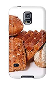 (IpOIodL1901KgSLH)durable Protection Case Cover For Galaxy S5(bread 2 Food Bread)