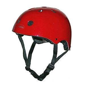 Pro-Rider Classic Bike & Skate Helmet (Red, Small/Medium)