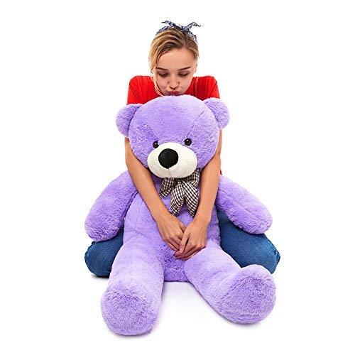 MaoGoLan 47 Inch Giant Teddy Bears Big Cute Plush Teddy Bear Huge Life Size Teddy Bear Large Stuffed Animal Toys for Girlfriend Children