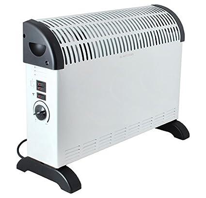zearo calefactor convector calentador 2000 W Radiador Eléctrico Calefacción calefactor