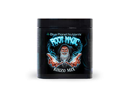 (Root Magic Rhizo Mix (4 oz) Blue Planet Nutrients | Beneficial Microbes Mycorrhizae Trichoderma Humic & Fulvic Acid L-Amino Acids | for Plant Root & Soil Health)