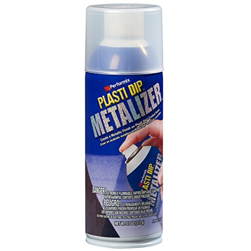 Silver Aerosol - Plasti Dip Performix 11210 Enhancer Silver Metalizer Aerosol - 11 oz.
