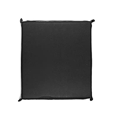 Non Skid Waterproof Cushion Pad with Securing Strap for Shower Seat, Bench, Chair or Wheelchair || for coccyx, back support, sciatica and tailbone relief- for pressure sores and ulcers for seniors