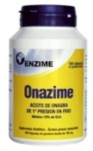 Onazime Aceite de Onagra 450 perlas de 500 mg de Enzime