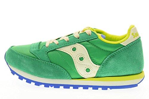 En La Colorée Fille Saucony garçon Mode Green Suède Chaussure Sport Confortable À Grise Synthétique De Geko Lacets Ou Enfant Et vpxYqSw7p