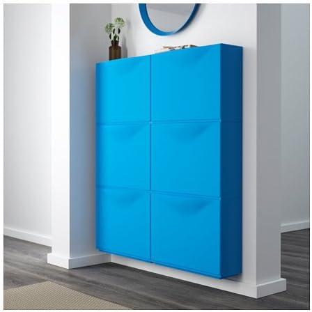 Ikea Trones Chaussures Armoire Stockage Bleu 3 Pack 3 Pack 51 X 39 Cm Amazon Fr Cuisine Maison