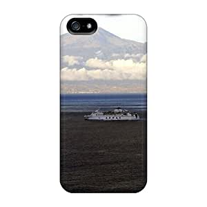 Ferry Under Dark Clouds Protection cell phone carrying skins Protective Cases Series Iphone5 iphone 5s iphone 5