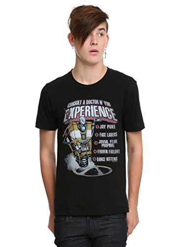 Price comparison product image Borderlands Dr. Claptrap List T-Shirt