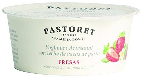 Pastoret - Yogur Artesanal Fresas, 1 Unidad x 125 g: Amazon.es: Alimentación y bebidas
