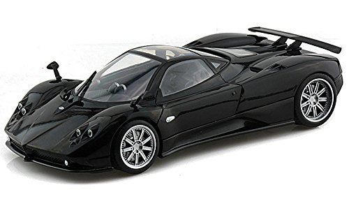 Pagani Zonda F w/ Sunroof, Black - Motormax 79159 - 1/18 scale Diecast Model Toy Car