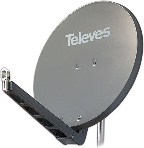 Televes S85qsd G Antenne Satellite Grau Heimkino Tv Video