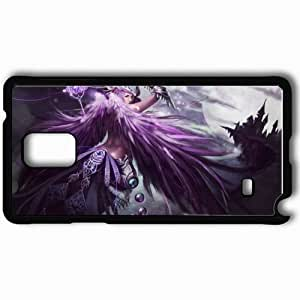 Personalized Samsung Note 4 Cell phone Case/Cover Skin Aion Black