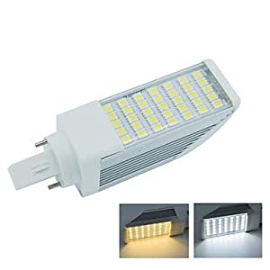 SS- G24 2pin 7W 35X5050SMD 665LM 2800-3200K Worn White Light 6000-6500K Cool White Light LED Corn Bulb Lamp (AC85-265V) , Warm White