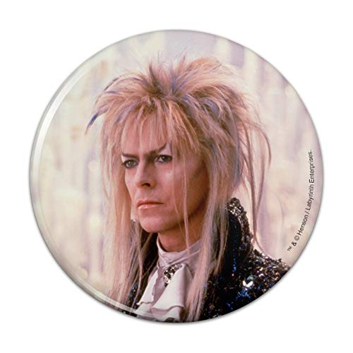 David Bowie As Jareth From The Labyrinth Candles Background Kitchen Refrigerator Locker Button Magnet - 3