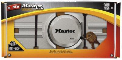 Master Lock Co Padlock, Magnum Hidden Shackle Lock and Ha...