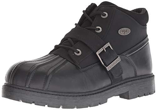 Lugz Men's Avalanche Strap Winter Boot, Black, 9.5 M US