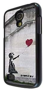 Samsung Galaxy S4 Mini I9190 Banksy Grafitti Art Balloon Girl Design Fashion Trend Case Back Cover Metal and Hard Plastic Case