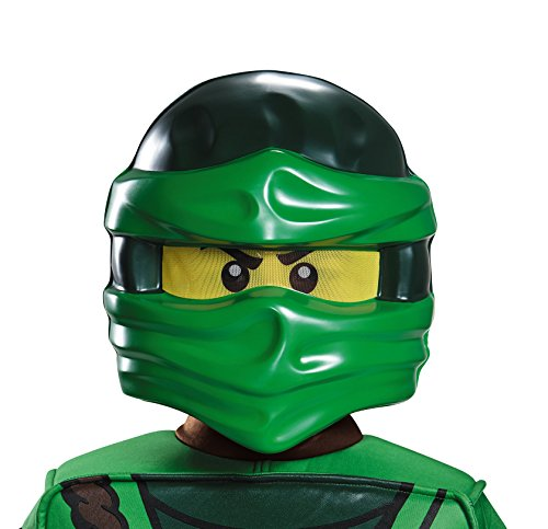 Lloyd Ninjago LEGO Mask, One Size (Three Fates Halloween Costume)
