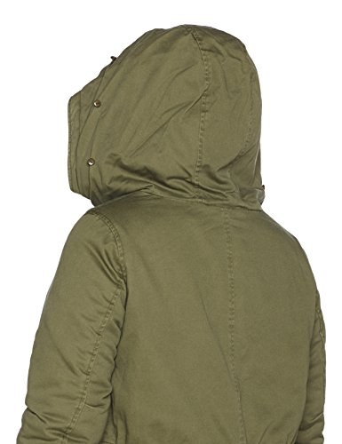 Ls Tarmac Verde Donna Parka Jacket 1584 Zizzi 7fwqgOX