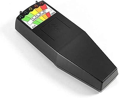 K2 Electromagnetic Field EMF Gauss Meter Ghost Hunting Detector PF Spectrum Analyzer Free Flashlight