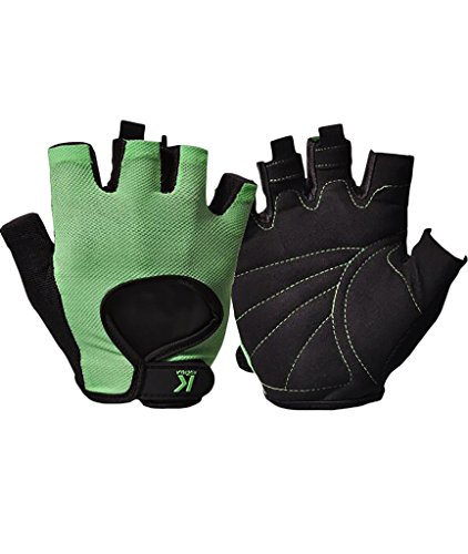 Men's Weightlifting Gloves, iiSPORT Workout Gym Crossfit Bodybuilding Leather Grip Gloves
