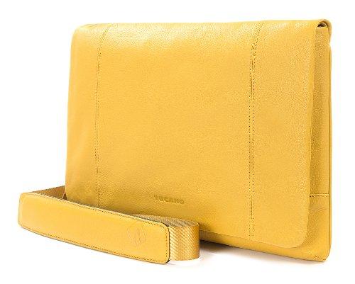 Tucano One Premium Clutch 11 Valigetta ventiquattrore Nero giallo