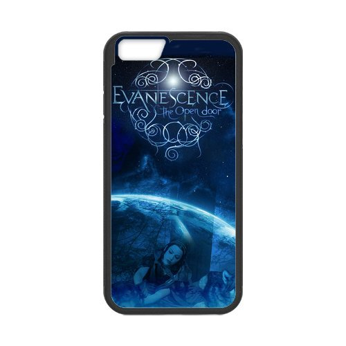 "Fayruz - iPhone 6 Rubber Cases, Evanescence Hard Phone Cover for iPhone 6 4.7"" F-i5G510"