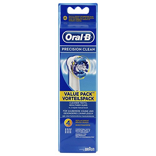 ORAL B Aufsteckbürsten Precision Clean 4 St Zahnbürste