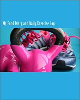 my food diary and daily exercise log a one year lifestyle notebook