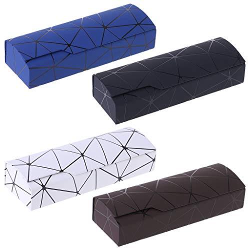 Box Optiques 4 Noir Zoomy Portable À Lunettes Glasses Main La Housse Lecture Protection De a7qw57xO