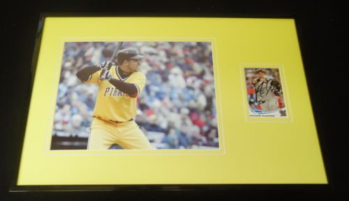 Aramis Ramirez Signed Framed 11x17 Photo Display Pirates