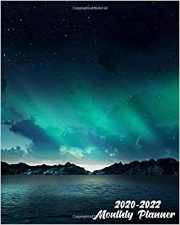The 10 Star Toys Of Christmas 2020-2022 2020 2022 Monthly Planner: The Northern Lights Three Year (36