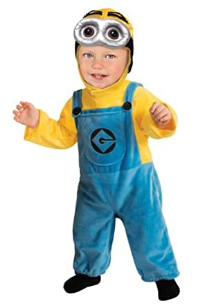 Little Boys' Minion Toddler Costume Small (6T)