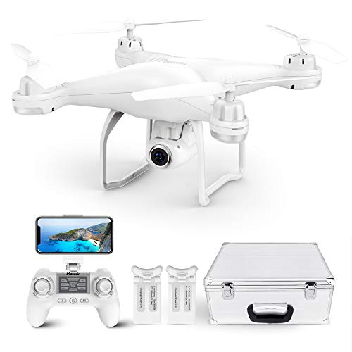 Potensic T25 GPS Drone, FPV RC Drone with Camera 1080P HD WiFi Live Video, Case
