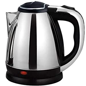 Longlife Hot Water Pot Portable Boiler Electric Kettle (1.8 L, Silver)