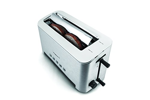 Kenwood TTM610 Persona Collection Toaster with Adjustable Toasting Slot and Sandwich Basket Silver