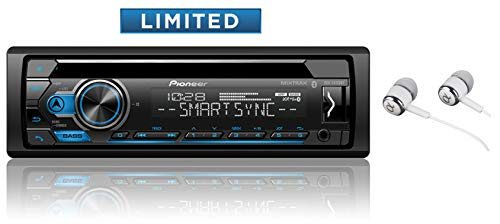 Pioneer DEH-S4120BT in Dash CD Am/FM Receiver with MIXTRAX, Bluetooth Dual Phone Connection, USB, Spotify, Pandora Control, iPhone and Android Music Support, Smart Sync App (Best Pioneer Cd Player)