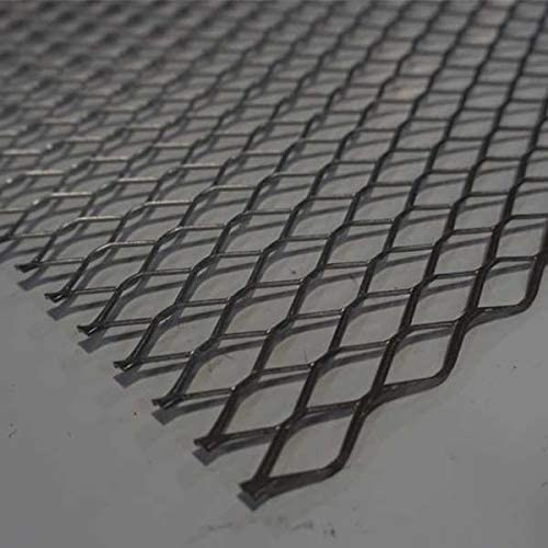 Expanded Sheet,RSD,Carbon,4x4 ft,1/2-#16 - DIRECT METALS 41S05016-48X48