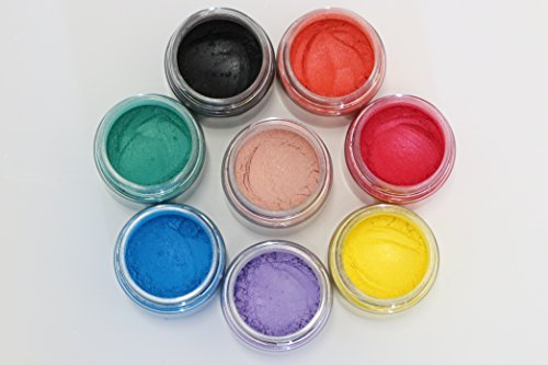 Cosmetic Grade Mineral Mica Colorants For Diy Mineral Makeup   Soap Makings
