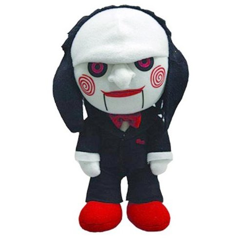 Saw Jigsaw Scary Plush Toy