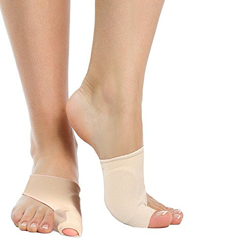 Kit Polyurethane Spacers - Relief Protector Sleeves Kit, Bunion Corrector Bunion Pads - Bunion Relief with Gel Bunion Pads Toe Spacer Bunion Sleeve - Bunion Toe Straightener Cushions Bunion Splint for Ultimate Foot Pain Relief
