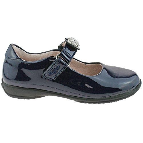 13 UK LK8304 32 School Mandy Shoes Kelly DE01 F Blue Navy Lelli Patent Width ATwpUOqc7
